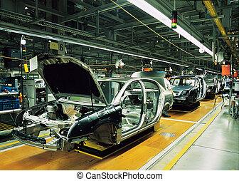 차, 선, 생산
