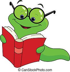 책, 벌레