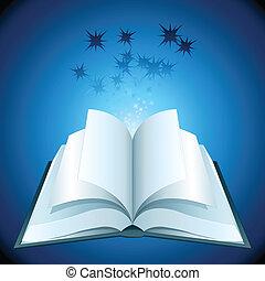 책, 열려라, 은 주연시킨다