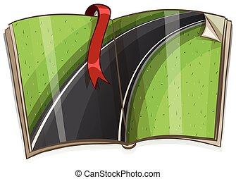 책, 장면, 길