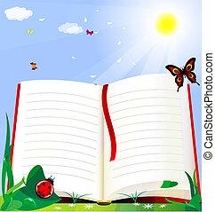 책, natire