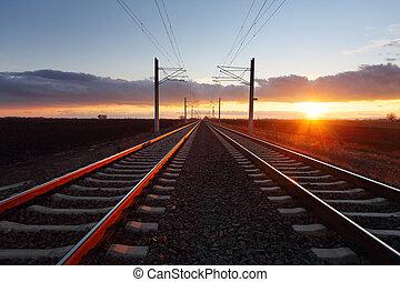 철도, 황혼