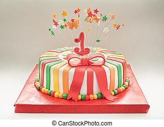 첫번째 생일 축하 케이크, 년