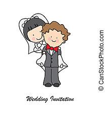 초대, 결혼식