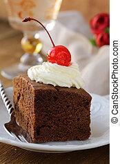 초콜릿 과자, 생일 케이크