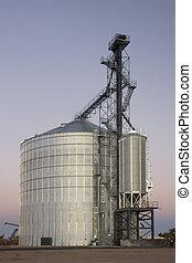 최근, 사일로, 곡물 엘리베이터, constructed