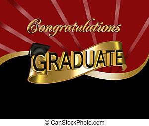 축하, 문자로 쓰는, 졸업생