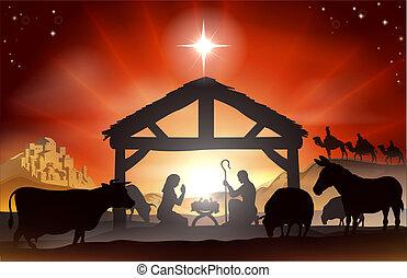 출생, 크리스마스 장소