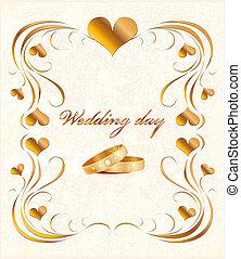 카드, 결혼식