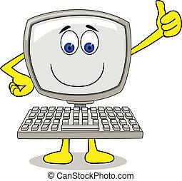 컴퓨터, 만화