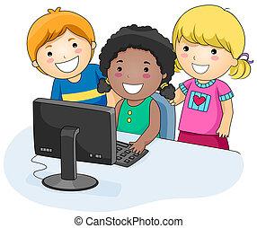컴퓨터, 키드 구두