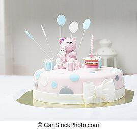 케이크, 곰