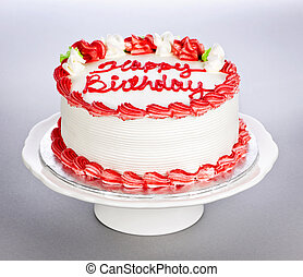 케이크, 생일