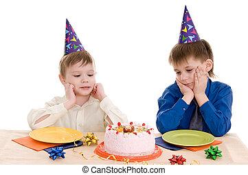 케이크, 소년, 2, wich