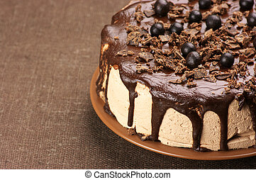 케이크, 집에서 만든, 초콜릿 과자