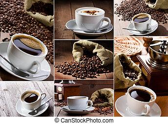 콜라주, 커피