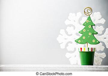 크리스마스, decor.