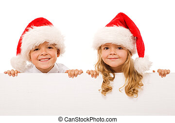 키드 구두, -, 고립된, 표시, 화이트 크리스마스, 행복하다