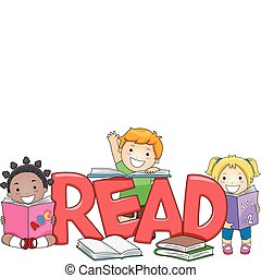 키드 구두, 독서
