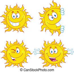 태양, 3, 세트, 특성, 수집