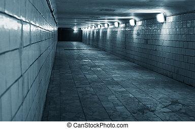 터널, 도시, 도시의