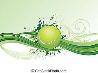 테니스, 배경