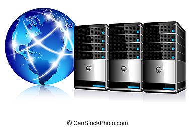 통신, 서버, 인터넷