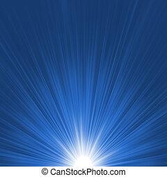 파란 별, 파열, flare., eps, 8, 백색