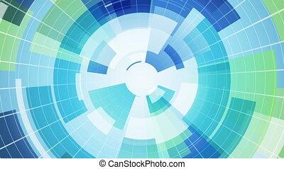 파랑, 세그먼트, loopable, 배경, 떼어내다, 안내장