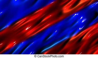 파랑, 유동체, 배경, 빨강