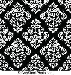 패턴, 다마스크 천