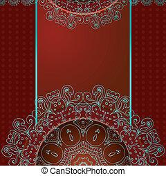 패턴, 떼어내다, 당초무늬, 디자인