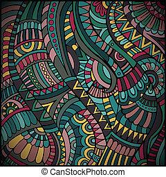 패턴, 벡터, 소수 민족의 사람