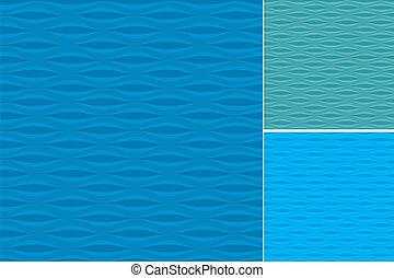 패턴, 세트, 파도