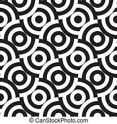 패턴, seamless, (vector)