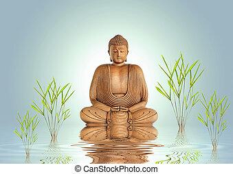 평온, buddha