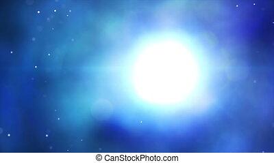 푸른 빛, 떼어내다, seamless, 배경, 고리