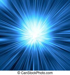 푸른 빛, 파열