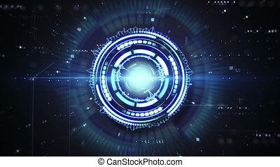 푸른 형체, techno, 고리, 생기, 미래다, 안내장