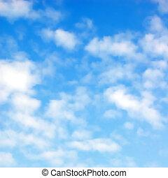푹신한, 구름