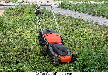 풀 풀 베는 기계, 잔디, 절단