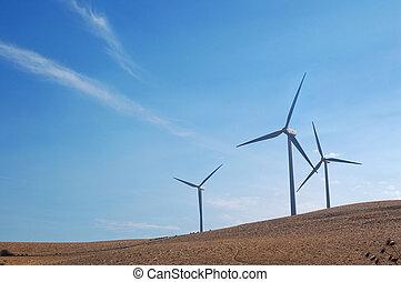 풍차, 현대, 캘리포니아