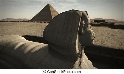 플랫폼, 4k, 생명을 불어 넣어진다, giza, 스핑크스, 이집트