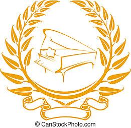 피아노, 상징