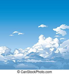 하늘, 구름