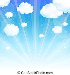 하늘 구름