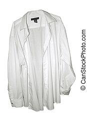 하얀 드레스 셔츠