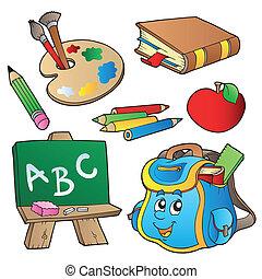학교, 만화, 수집
