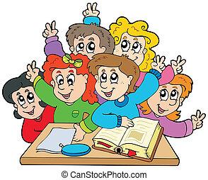 학교 어린이, 그룹