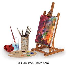 학교, 예술
